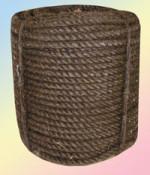 Канат пеньковый пропитанный тросовой свивки (ПТпр)
