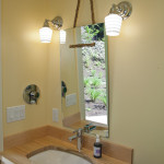 веревка и канат декор ванной