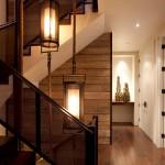 веревка и канат декор лестницы