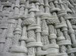 Фасады из веревки