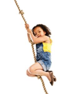 канат для ребенка